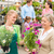 customer at garden centre buying potted flowers stock photo © candyboxphoto