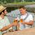 glücklich · Freunde · Toasten · Bier · bar · Veröffentlichung - stock foto © candyboxphoto