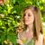 jonge · vrouw · ontspannen · bloesem · boom · voorjaar - stockfoto © candyboxphoto