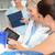 modern · diş · klinik · genç · dişçi · çalışma - stok fotoğraf © candyboxphoto