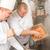 séfek · étterem · hotel · konyha · főzés · kettő - stock fotó © candyboxphoto