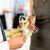 Toast · champagne · société · événement · célébration - photo stock © candyboxphoto