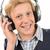 słuchanie · muzyki · portret · cute · uśmiechnięty · teen - zdjęcia stock © candyboxphoto