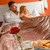 romantic breakfast hotel room service young couple stock photo © candyboxphoto