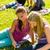 tinédzserek · mutat · jókedv · tini · tinédzserek · verseny - stock fotó © candyboxphoto