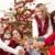 négy · mosolyog · nők · üveg · pezsgő · karácsony - stock fotó © CandyboxPhoto