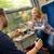 utazás · kényelmes · vonat · kilátás · üzlet · nyár - stock fotó © candyboxphoto