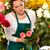 felice · femminile · fiorista · ritratto - foto d'archivio © candyboxphoto