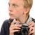 レトロな · パパラッチ · 写真 · 1940 · スタイル · カメラマン - ストックフォト © candyboxphoto
