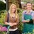 customer and worker in garden center smiling stock photo © candyboxphoto