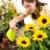 ogrodnictwo · kobieta · wody · kwiat · kwiat · biały - zdjęcia stock © candyboxphoto