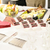 dessert · catering · banket · tabel · vruchten · mint - stockfoto © candyboxphoto