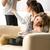 divórcio · família · separação · homem · mulher · crianças - foto stock © candyboxphoto