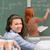 Studenten · lächelnd · Vorderseite · stehen - stock foto © candyboxphoto