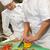 chef · groenten · mooie · vrouwelijke - stockfoto © candyboxphoto