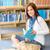 student · bibliotheek · lezen · boek · middelbare · school · vrouwelijke - stockfoto © candyboxphoto