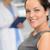 улыбаясь · элегантный · женщину · врач · Постоянный · ног - Сток-фото © candyboxphoto