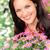 jolie · femme · coloré · bouquet · fleurs · joli - photo stock © candyboxphoto