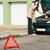 coche · Pareja · llamando · carretera · hombre - foto stock © candyboxphoto
