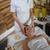 mulher · cabeça · massagem · luxo · estância · termal · centro - foto stock © candyboxphoto