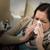 женщину · плохо · холодно · сморкании · кавказский · домой - Сток-фото © CandyboxPhoto