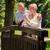 ouderen · vrouw · echtgenoot · knuffelen · buitenshuis · glimlachend - stockfoto © candyboxphoto