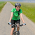 woman riding bike on cycling path meadow stock photo © candyboxphoto