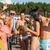 pessoas · festa · praia · bebidas · dois · casais - foto stock © candyboxphoto