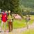 fiatal · trekking · emberek · élvezi · festői · tájkép - stock fotó © candyboxphoto