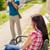 彼氏 · ガールフレンド · リラックス · 公園 · 草 · 少女 - ストックフォト © candyboxphoto