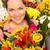 bloemist · boeket · bloem · klant · winkel · vrouw - stockfoto © candyboxphoto