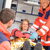paramedics helping woman in ambulance broken arm stock photo © candyboxphoto