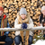 young people sitting outside winter clothes wood stock photo © candyboxphoto
