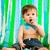 çocuklar · mutlu · yıllar · parti · yeme · palyaço - stok fotoğraf © carenas1