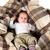 pequeno · menino · dentro · caixa · branco · negócio - foto stock © carenas1