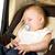 baby · slapen · auto · zitting · gezicht · stoel - stockfoto © carenas1