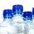 woda · mineralna · butelek · wody · papieru · tekstury · niebieski - zdjęcia stock © carenas1