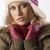 meisje · roze · hoed · portret · mooie - stockfoto © carlodapino