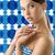 cara · correção · linha · jovem · corpo - foto stock © carlodapino