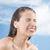 ritratto · trattamento · termale · faccia · massaggio - foto d'archivio © carlodapino