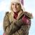 blond · roze · hoed · mooie · shot · mooie - stockfoto © carlodapino