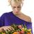 közelkép · menyasszony · haj · virágok · hátsó · nézet · nő - stock fotó © carlodapino