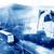 abstract design international shipment and highway stock photo © carloscastilla