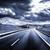 strada · campo · stormy · buio · nuvoloso · cielo - foto d'archivio © carloscastilla