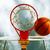 basketbal · warm · zomer · hemel · sport · abstract - stockfoto © carloscastilla