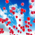 çok · balonlar · uçmak · gökyüzü · mavi · gökyüzü · parti - stok fotoğraf © carloscastilla