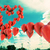 gelukkige · verjaardag · hartvorm · ballonnen · hemel · gekleurd - stockfoto © carloscastilla