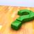green question mark stock photo © carloscastilla