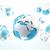 réseau · internet · affaires · monde · travaux · carte - photo stock © carloscastilla