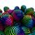 抽象的な · 背景 · 虹 · 色 · デザイン - ストックフォト © carloscastilla